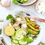 Mediterrane salade met tilda lime & coriander
