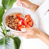 Tahini granola